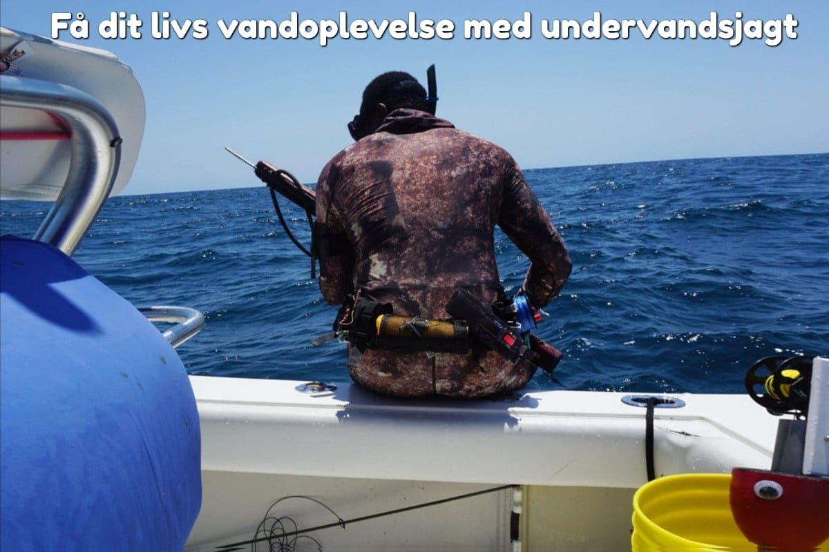 Få dit livs vandoplevelse med undervandsjagt